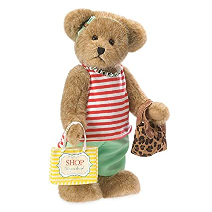 Boyds Bears estilo de vida EVA oso de peluche bolso de mano y bolsa de la