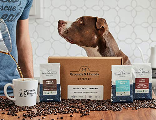 Support animal rescue with Grounds & Hounds kit