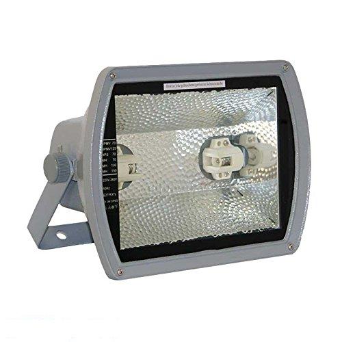 HQI Fluter 70W symetrisch Strahler RX7s Flutlichtstrahler Außenstrahler Scheinwerfer ohne Leuchtmittel