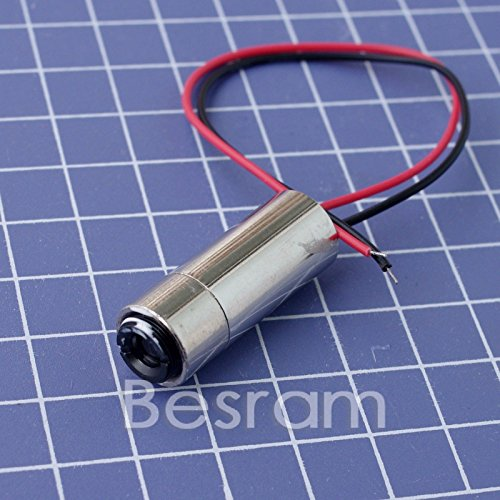 INDUSTRIAL Focusable 1235mm 30mW 650nm660nm Red Laser line Diode Module 110°
