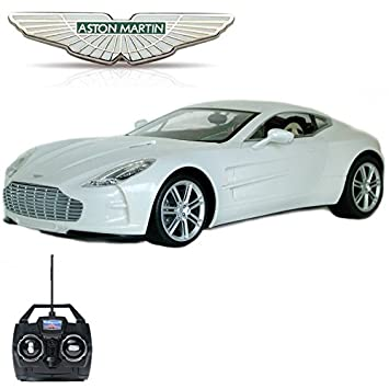 Comtechlogic® CM 2149 Official Licensed 1:14 Aston Martin One 77 Radio  Remote Controlled RC Electric Rechargeable Car EP RTR: Amazon.co.uk: Toys U0026  Games