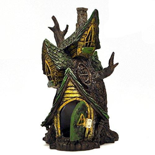 Miniature Fairy Garden Tree HouseFairies House  Amazon com. Fairy Garden Ornaments Ireland. Home Design Ideas
