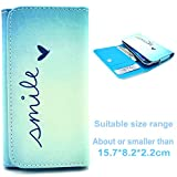 TUTUWEN Fashion Multipurpose Purse Premium PU Leather Case [Button] Wallet Flip Protective Cover for Samsung Galaxy (A7 E7 NOTE 3 NOTE 4 G530H N7505 N9150 I9060 ect) / SONY (T3 E3 ) / LG (G4 G3 G FLEX 2) / HUAWEI G730 4X G750 G7 Honor 6X / HTC (M9) E8 G7 HTC 816 / Asus Zenfone 2 / Alcatel Pop C9 ect.