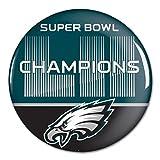 "McArthur NFL Philadelphia Eagles Super Bowl LII Champions 3"" Button"