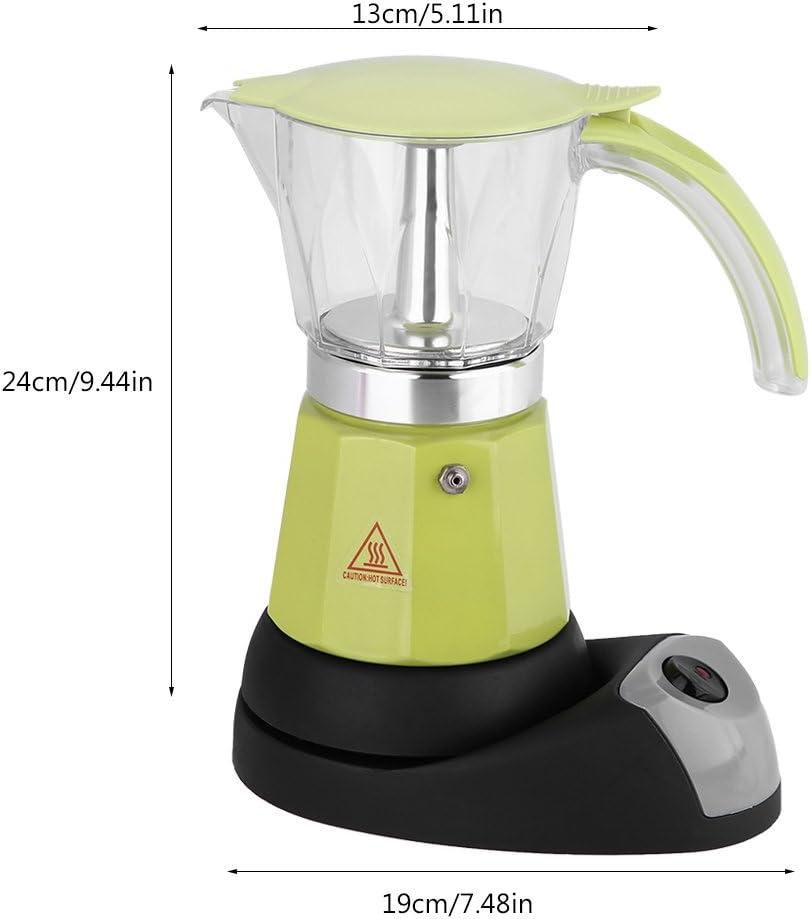 Zerodis Cafetera Moka eléctrica,Máquina de café con Base ...