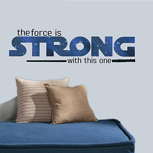 RoomMates RMK3077SCS Star Wars Classic The Force is Strong P