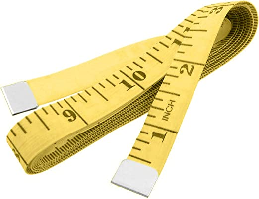 120 Inch Comfortable Tape Measure Sewing Tailor Ruler With Centimeters Scale  GQ