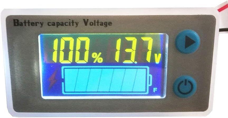 Digital LED Level Indicator LiFePO 4 Lithium Li-ion Car Battery Capacity Meter