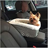 Car Pet Cushion Universal Vehicle Armrest Box Pet Carrier Seat Pet Car Carrier for Dog Bags for Small Dogs Out