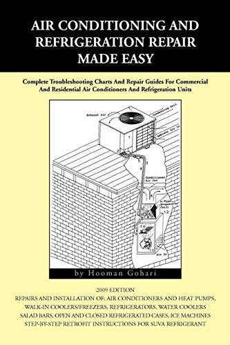 (Air conditioning and Refrigeration Repair Made Easy: Complete Troubleshooting Charts And Repair Guides For Commercial)