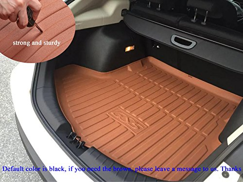 Hot Sale 1pcs Leather Car Boot Liner Rear Trunk Pretect Mat Trunk Tray Trunk Cargo Liner Mat Cargo Tray Floor Mat Custom Fit for Cadillac SRX 2013 2014 2015 2016 2017 2018 2019