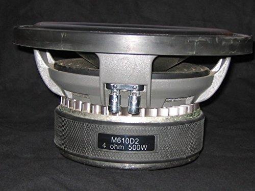 M610D2 - Diamond Audio Titanium 10 Inch 800 RMS Dual 2 Ohm Subwoofer