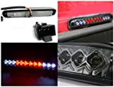Spec-D Tuning LT-F25099RBGLED-CY Ford F250 F350 Super Duty Smoked Led Third Brake Light Stop Lamp