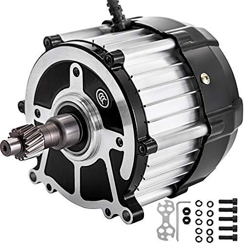 VEVOR Brushless DC Motor 650W Differential Speed Electric Motor 48V 3000RPM