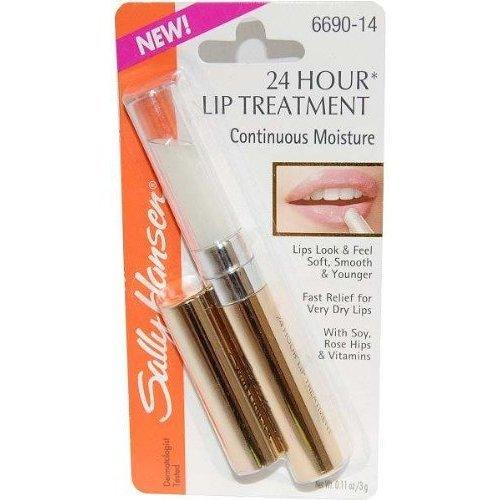 Sally Hansen 24 Hour Lip Treatment Continuous Moisture #6690-14 (.11 Oz.)