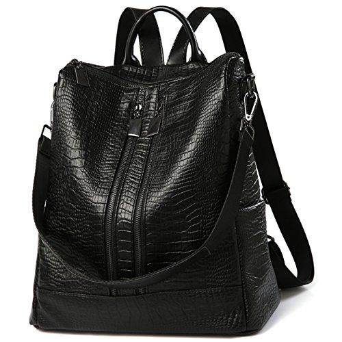 à coréenne nouvelle dos sac L030de sac cuir version loisirs femmes Sac bandoulière black mode de à PU 2018 Xft058wq