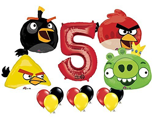The Ultimate Angry Birds 5th Birthday Party Supplies