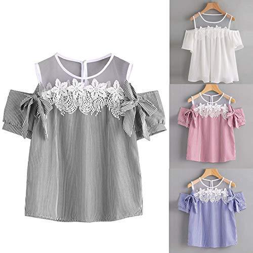 SHOBDW Große Größe Damen Sommer Mode Simplicity Einfarbig