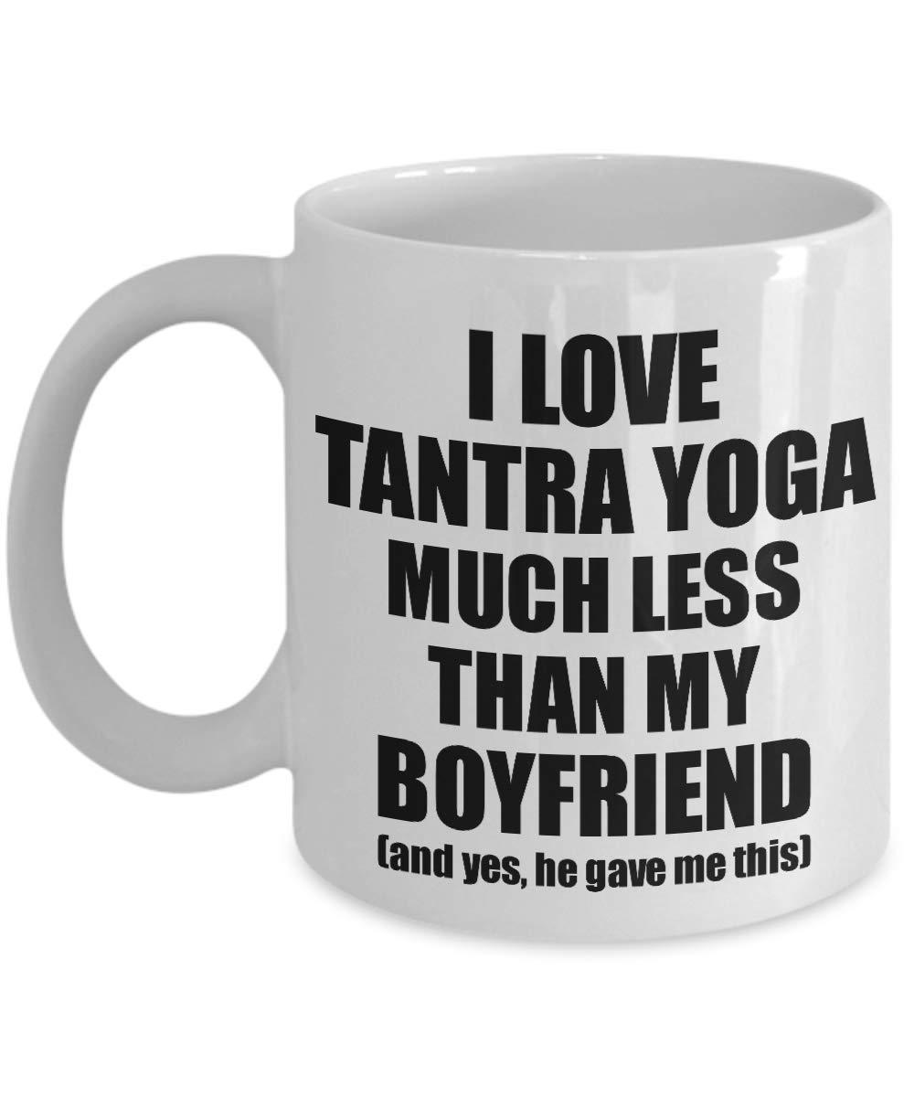 Amazon.com: Tantra Yoga Girlfriend Mug Funny Valentine Gift ...