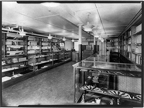 HistoricalFindings Photo: Co-Operative Bookstore,Howard University,Washington,DC,Interior,1927
