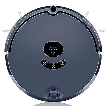 FHTD Robot Aspirador App Inteligente/Visual Limpiador De Mapas, Carga Automática,Cyan: Amazon.es: Hogar