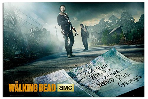 The Walking Dead Rick And Daryl Poster