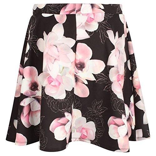 Patineuse Rose Lipsy Fleurs t Taille 34 42 Noir Ex Imprim 36 Jupe vase WwFYnHxF
