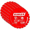 Freud D0724A Diablo 7-1/4-inch 24T ATB Thin Kerf Framing Saw Blades, 10-Pack from Freud