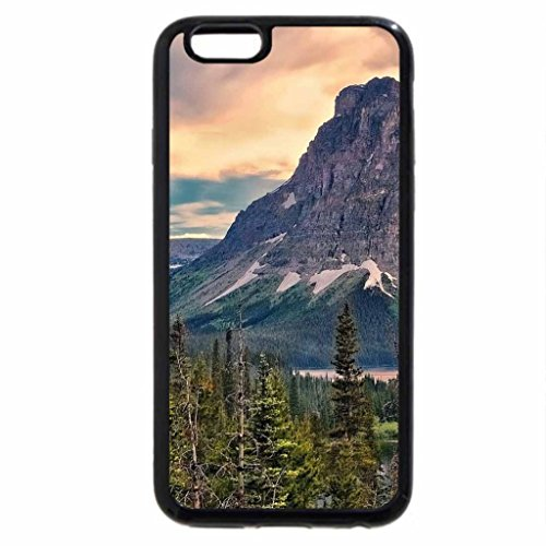 iPhone 6S / iPhone 6 Case (Black) majestic mountain landscape hdr