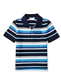 Ralph Lauren Baby Boys Striped Cotton Mesh Polo Shirt