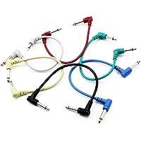 Guitarra Patch Cable De Alambre Del Efecto Del Pedal De Cable, Cables De Instrumentos De Guitarra Guitarra Eléctrica…