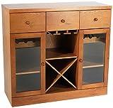 Target Marketing Systems Sedona Wine Cabinet, Oak Review