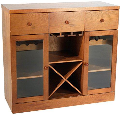 Target Marketing Systems Sedona Wine Cabinet, Oak