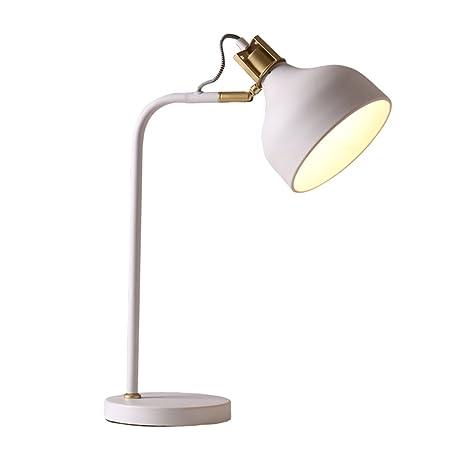 Lámpara de mesa minimalista nórdica Lámpara de escritorio de ...