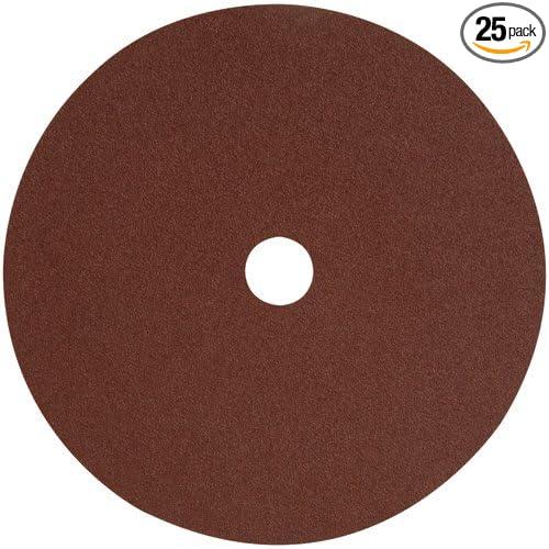 DEWALT DARB1K0625 7in AO Fiber Resin Disc 60G 25-Pack