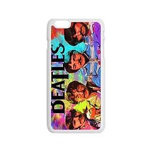 The Beatles resistente al doble protección negro Funda para iPhone 6Plus (5,5pulgadas)