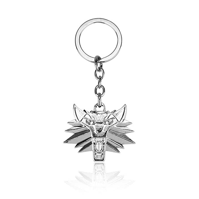 Amazon.com: AEmber - Witcher 3 Collar Llavero Medallion The ...