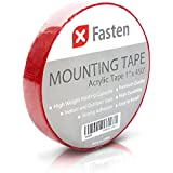 XFasten 1x450-Inch Acrylic Double Sided Removable Mounting Tape