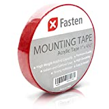 XFasten Acrylic Mounting Tape Removable, 1-Inch x 450-Inch - Best Reviews Guide