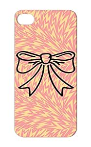 Bow Symbols Shapes Wedding Bows Christmas Chic Gift Birthday Bachelor Party Tie Black For Iphone 5/5s Schleife F1 Case Cover
