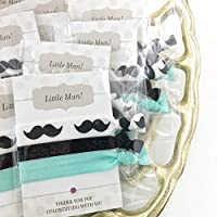 Mustache Party Favours - Hair Ties (5 Pack)
