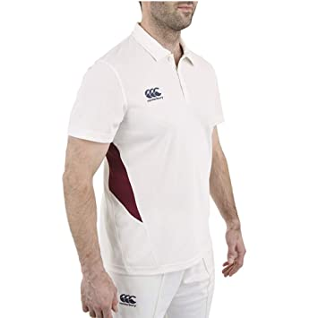 Canterbury Mens Wicking CCC Logo Cricket Polo Shirt: Amazon.es ...