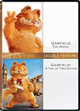 Amazon Com Garfield The Movie Tale Of Two Kitties Double Feature By Bill Murray Movies Tv