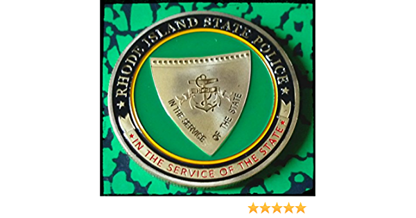Rhode Island State Police Challenge Coin