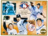 Autograph Warehouse 17899 Ron Guidry & Bobby Richardson Signed 1991 Upper Deck New York Yankees Old Timers Day Sheet