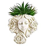 Hanging Plant Pot & Wall Mounted Planter,Angel Hanging Wall Decoration -Great for Indoor or Outdoor Hanging Decor