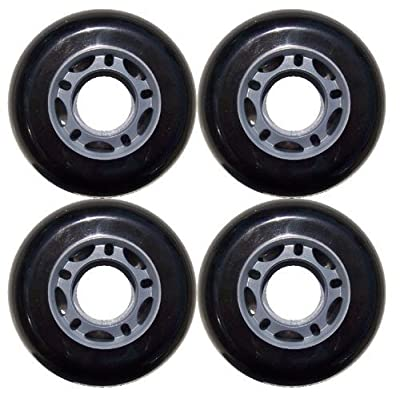 choice Inline Skate Replacement Wheels 70mm 82A Grey/Black 4 Pack : Sports & Outdoors