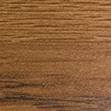 Wooden Mallet WallSaver Luggage Rack, Medium Oak, Brown Straps