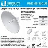 Ubiquiti PowerBeam PBE-M5-400, 25dBi, 560MHz, 64MB, 26dBm, 1xGigabit, 150+ Mbps, 25+ km