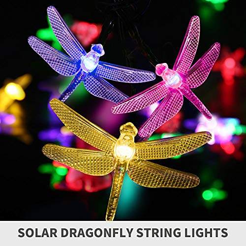 Dragonfly Patio Lights in US - 9